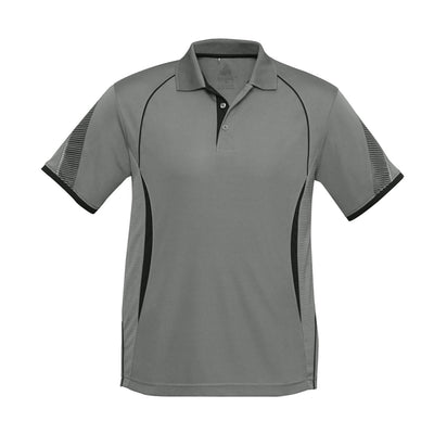 Kids Razor Polo in ash with black detailing