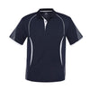 Kids Razor Polo in navy with white detailing