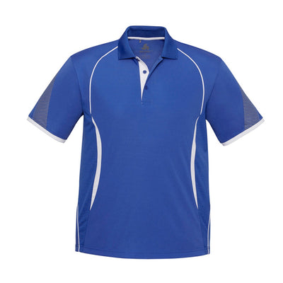 Kids Razor Polo in royal with white detailing