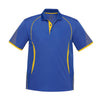 Kids Razor Polo in royal with gold detailing
