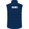 Rouse Hill RAMS Netball Club Puffa Vest - back