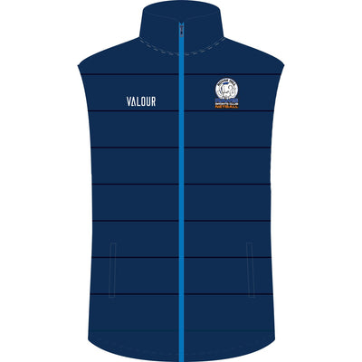 Rouse Hill RAMS Netball Club Puffa Vest - front