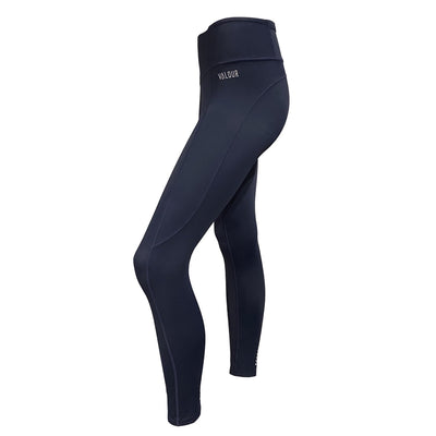 Valour Active 7/8  Lycra Tights- Ink