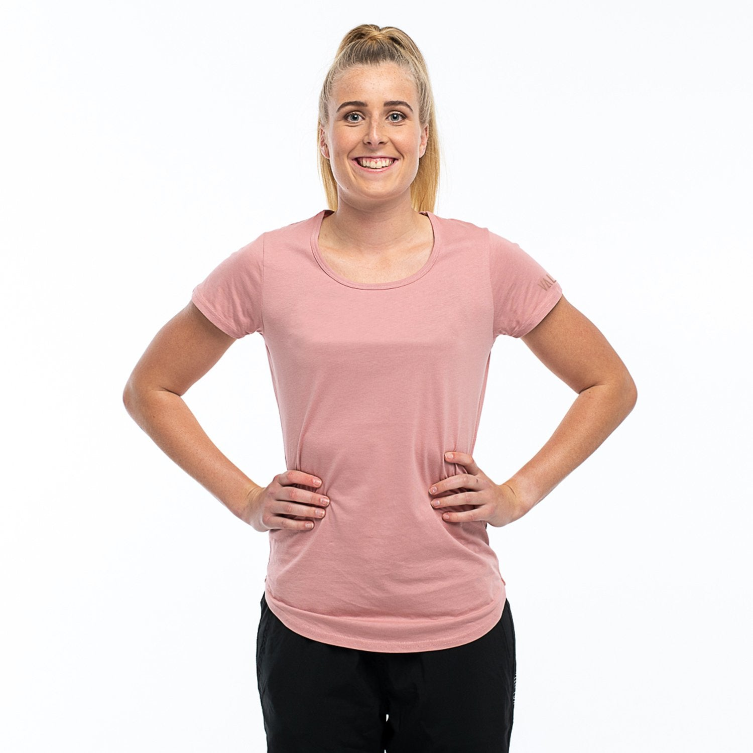 Valour Active Tee-Rose