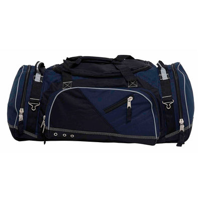 Recon is the ultimate sports kit bag that's constructed to endure the roughest conditions - navy and black