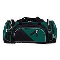 Recon is the ultimate sports kit bag that's constructed to endure the roughest conditions - green and black