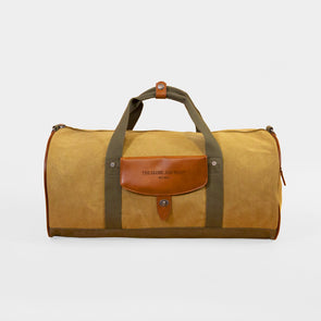 Weekend Duffel with Leather Detail