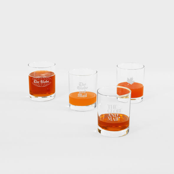 Heritage Globe Rock Glasses