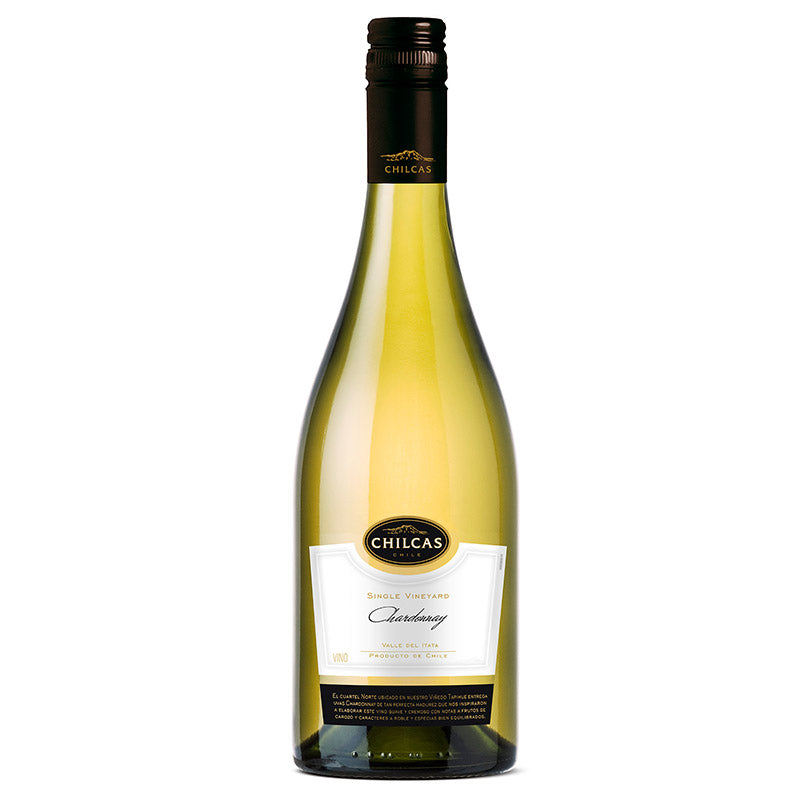 Chilcas Single Vineyard Chardonnay - vinosdelmundouy
