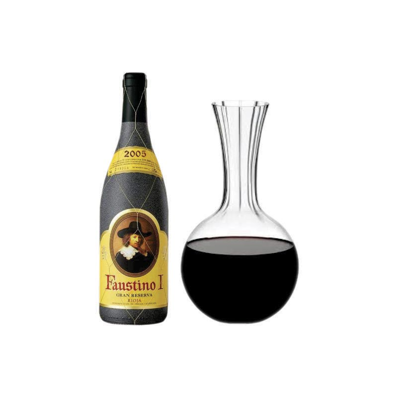 Dia del Padre - PACK 3: FAUSTINO + UN DECANTER RIEDEL PERFORMANCE