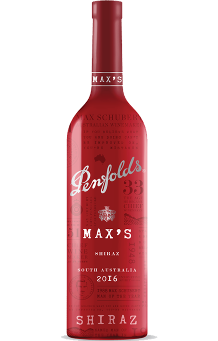 Penfolds Max´s  Shiraz 2016