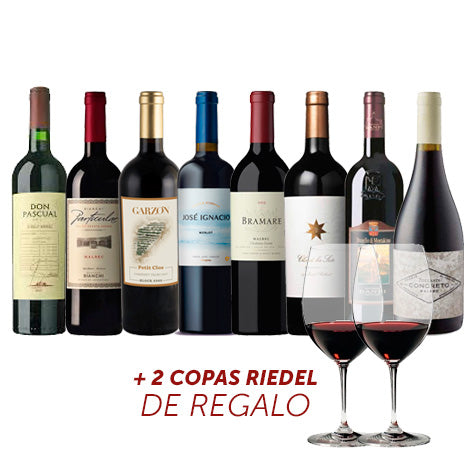 Pack Exclusivo Mercedes Benz + 2 Copas Riedel Vinum de Regalo
