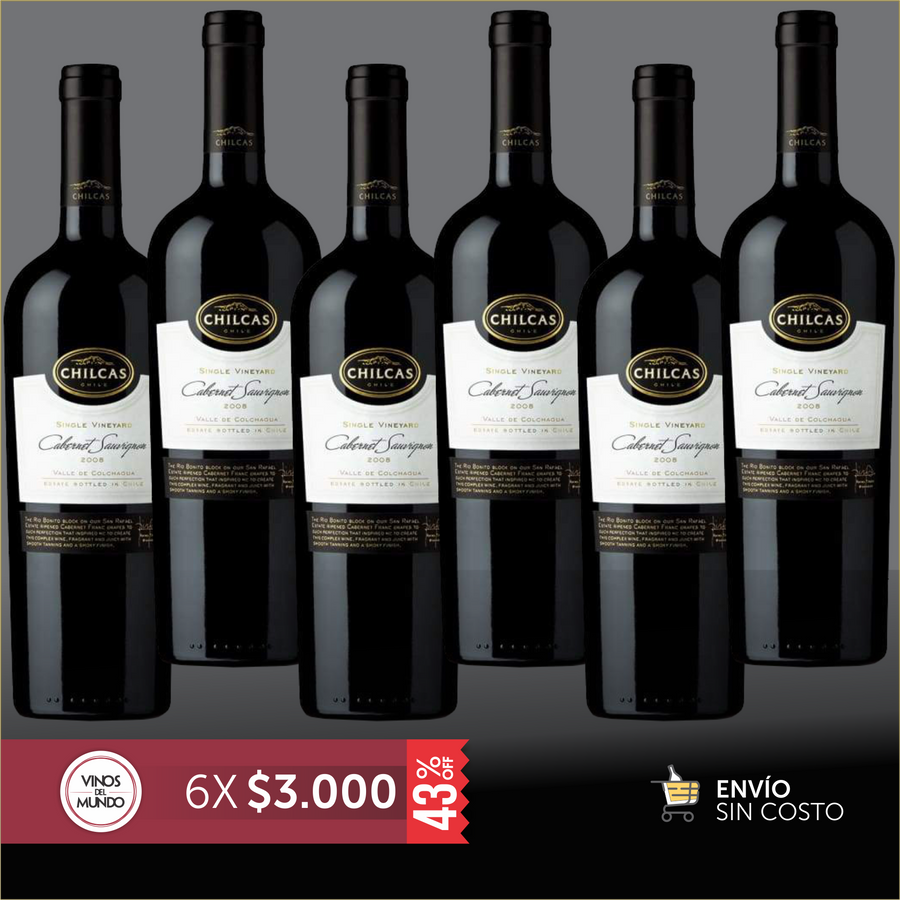 Promo Chilcas Single-Vineyard Cabernet Sauvignon