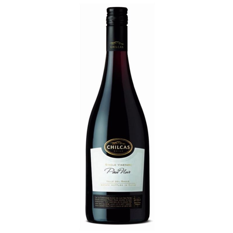 Chilcas Single Vineyard Pinot Noir - vinosdelmundouy