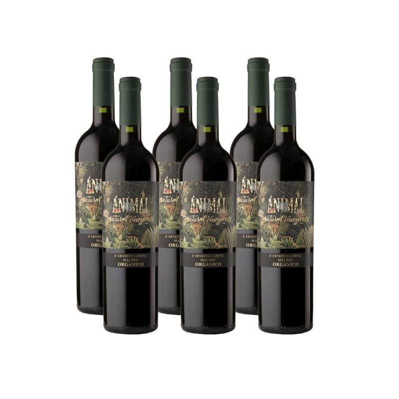 ¡imperdible! Animal Organic Malbec - 6X4 - Vino Tinto