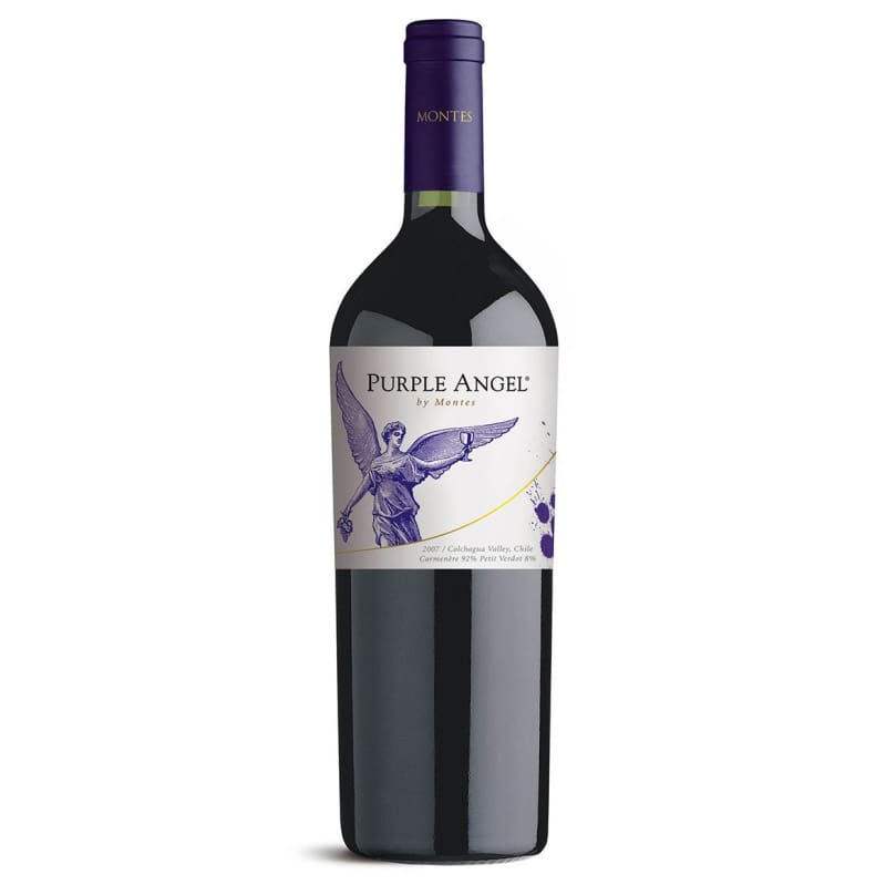 Montes Purple Angel - vinosdelmundouy