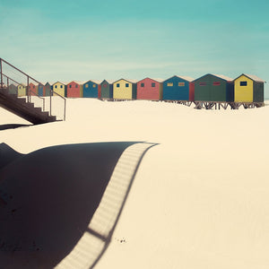 Shadows and sand - Limited edition fine art print