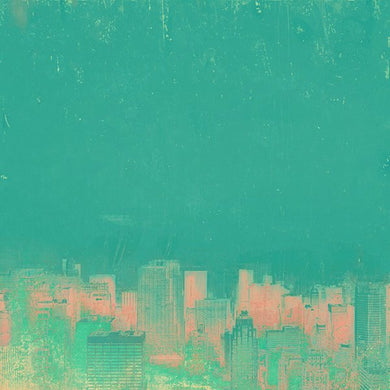 New York Green Pink - Limited edition fine art