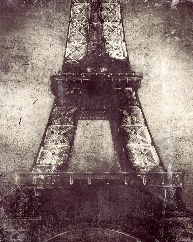 Eiffel lights -  Limited Edition Fine Art photo print