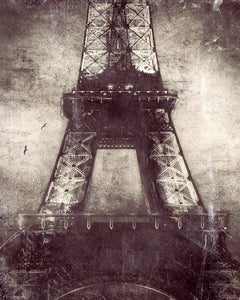 Eiffel lights -  Limited Edition Fine Art