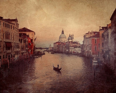 Solo al grand canal - Limited Edition Fine Art