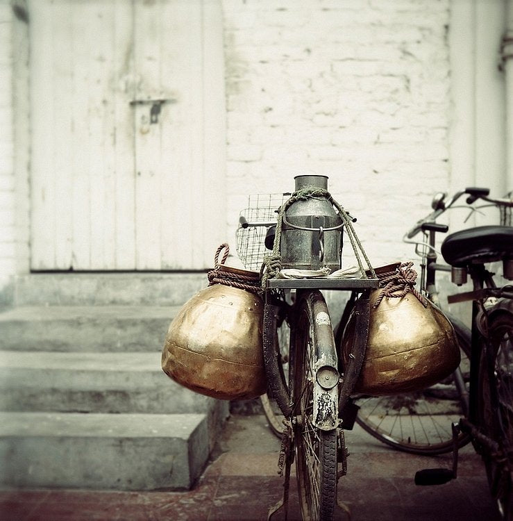 The bicycle carrier - Limited Edition Fine Art