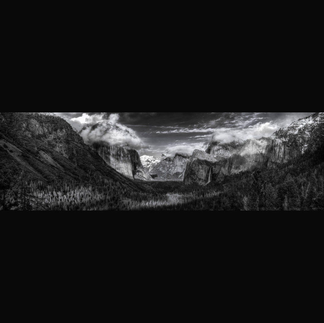Tunnel View, Yosemite - Limited i photographic print