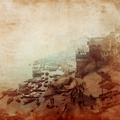 Ganges Ghats - Limited edition print fine art photograph