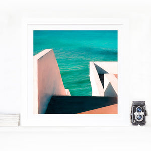 Composition green- Limited edition fine art print