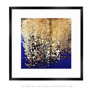 GOLD ON INK BLUE  - Fine Art Limited Edition