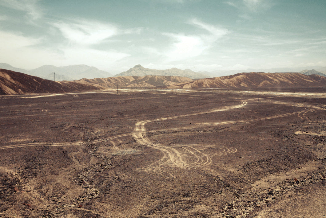 Nazca tracks - Limited Edition Fine Art photo print