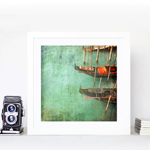 Venice in Red - Limited Edition Fine Art