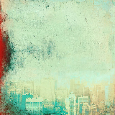 New York Red Blue - Limited edition fine art