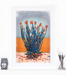 Cactus Wall - Limited Edition Fine Art print