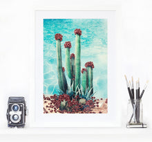 Load image into Gallery viewer, Cactus Pool - Limited Edition Fine Art