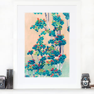 Cactus Tree - Limited Edition Fine Art