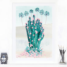 Load image into Gallery viewer, Cactus Oasis - Limited Edition Fine Art