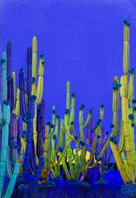 Load image into Gallery viewer, Cactus Blue - Limited Edition Fine Art