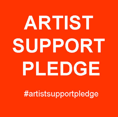 Artist Support Pledge. Artworks