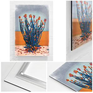 Cactus Wall - Limited Edition Fine Art