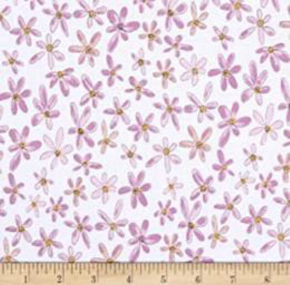 Whoo's Hoo Orchid 51598 (100% Quilting Cotton, Sold 1/4m Increments)
