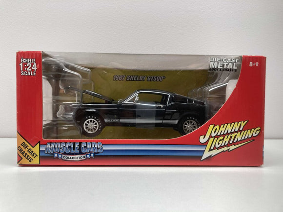 Johnny Lightning 1967 Shelby GT500 1:24 Model