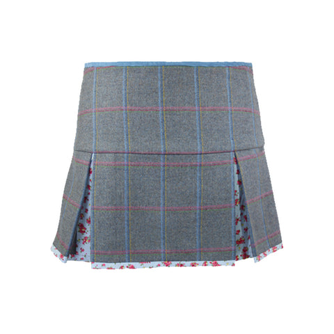 Aimee Tweed Skirt in Igloo