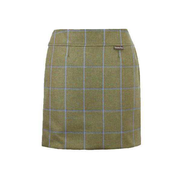 'Alice Tweed Skirt in Amber