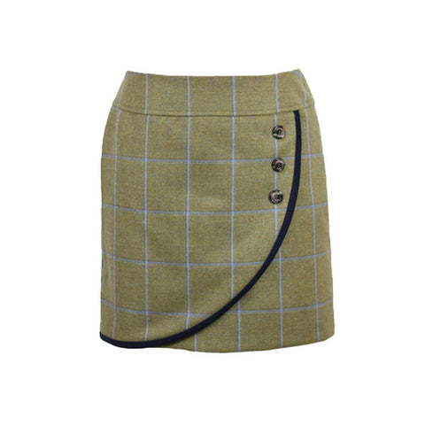 Alice Tweed Skirt in Amber