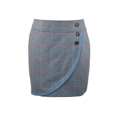 Alice Tweed Skirt in Igloo
