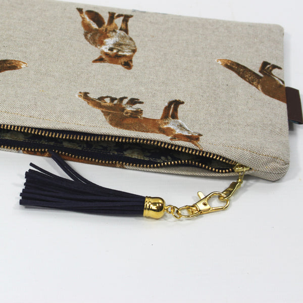 Medium Foxx Clutch Bag