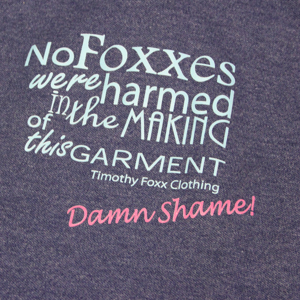 'No Foxxes Were Harmed' Polo in Blue