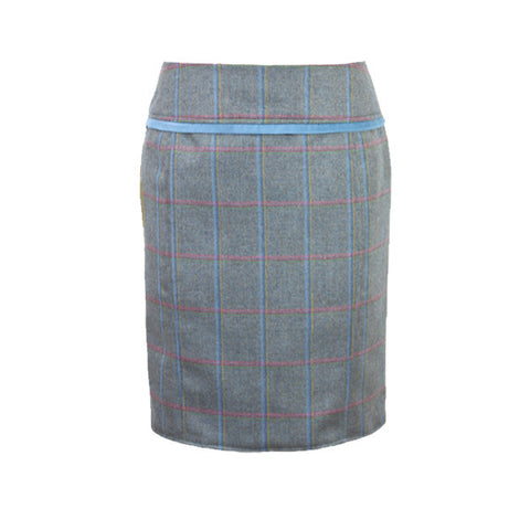 Heidi Tweed Skirt in Igloo