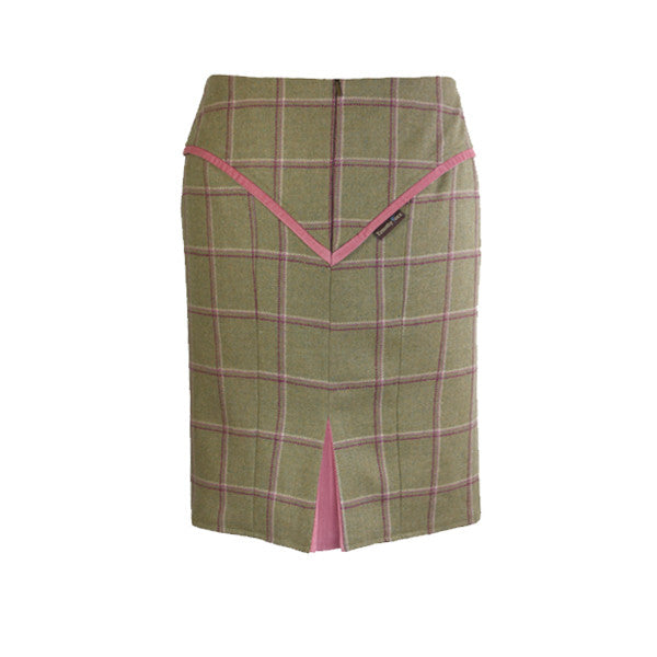 Heidi Tweed Skirt in Gooseberry